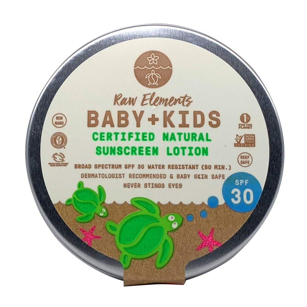 Raw Elements Baby & Kids Sunscreen Lotion - SPF 30