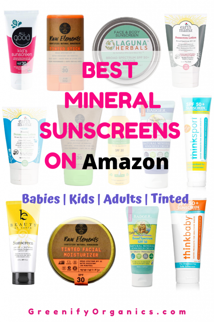 Best Mineral Sunscreen Brands On Amazon