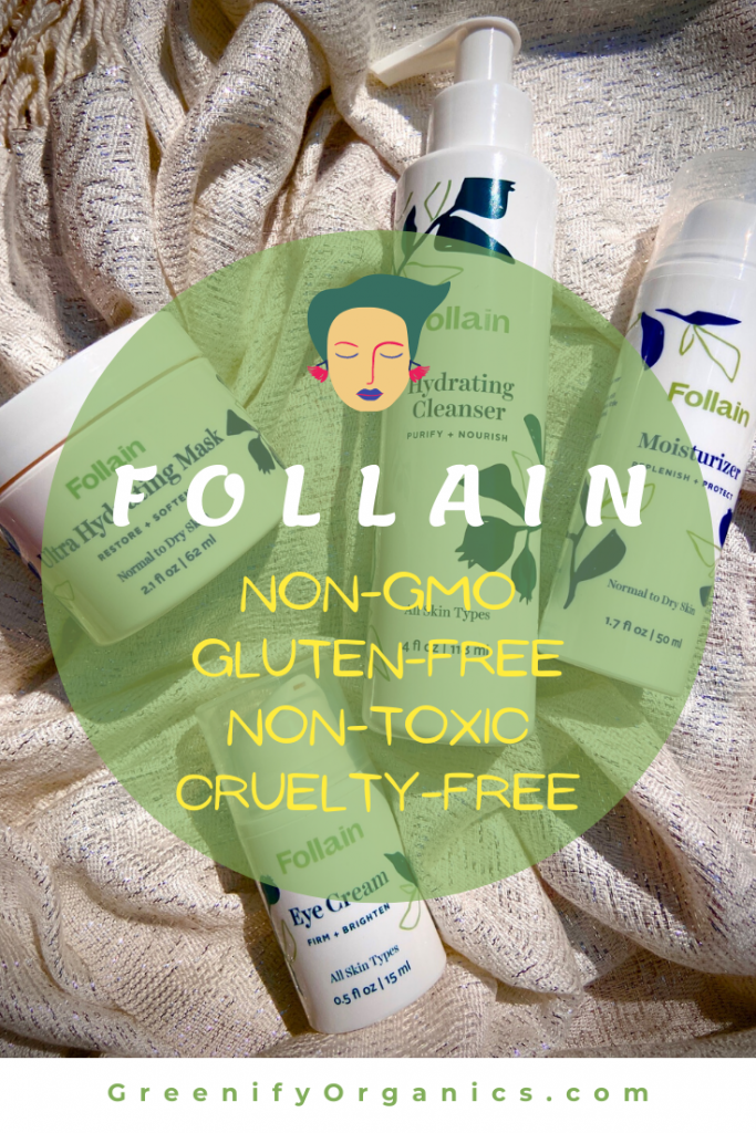 Follain nontoxic skincare collection