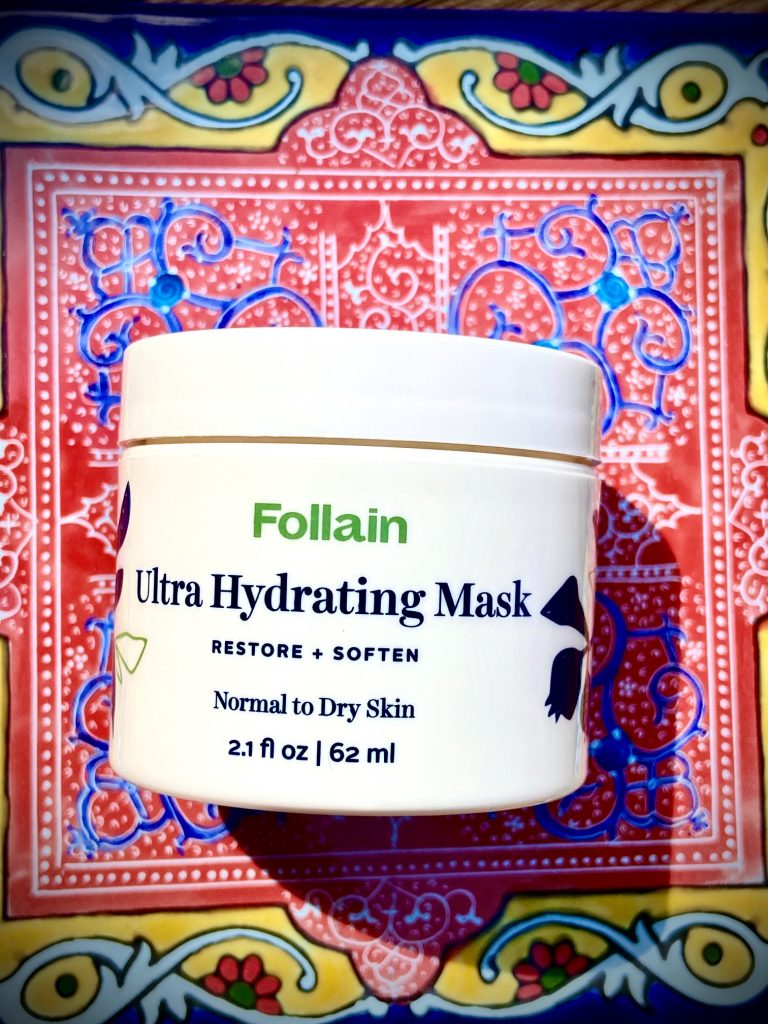 Follain ultra hydrating mask, Follain nontoxic skincare collection